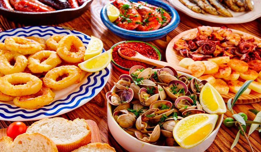 seafood tapas madrid